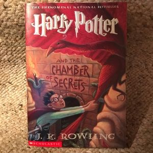 Book: Harry Potter & the Chamber of Secrets #2